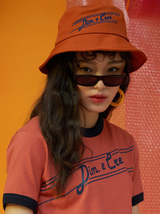 [50%] MAGICIAN BUCKET HAT_ORANGE