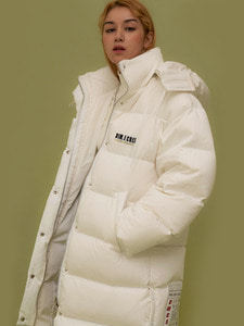 [70%] ORIGINAL DUCK DOWN FAROUT JUMBO PARKA_WHITE