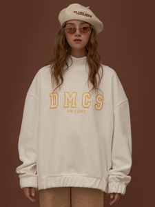 [30%]DIM. E CRES. DMCS TURTLE SWEAT-SHIRTS_WHITE