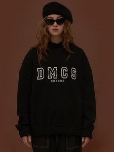 [30%]DIM. E CRES. DMCS TURTLE SWEAT-SHIRTS_BLACK